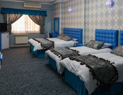 هتل های شیراز نزدیک شاهچراغ