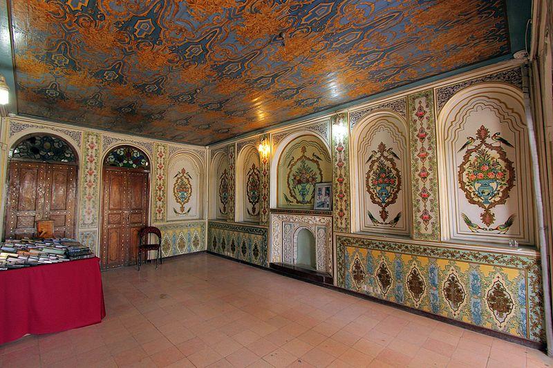 اتاق موزه نارنجستان قوام شیراز