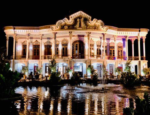 باغ رستوران های شیراز