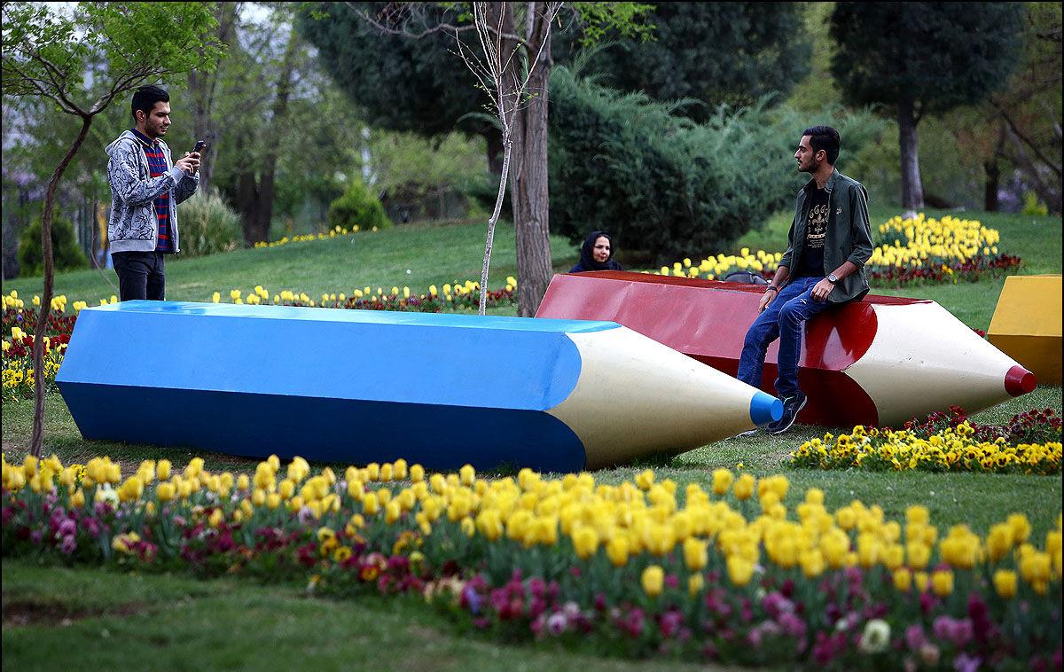 جشن لاله ها پارک ملت مشهد