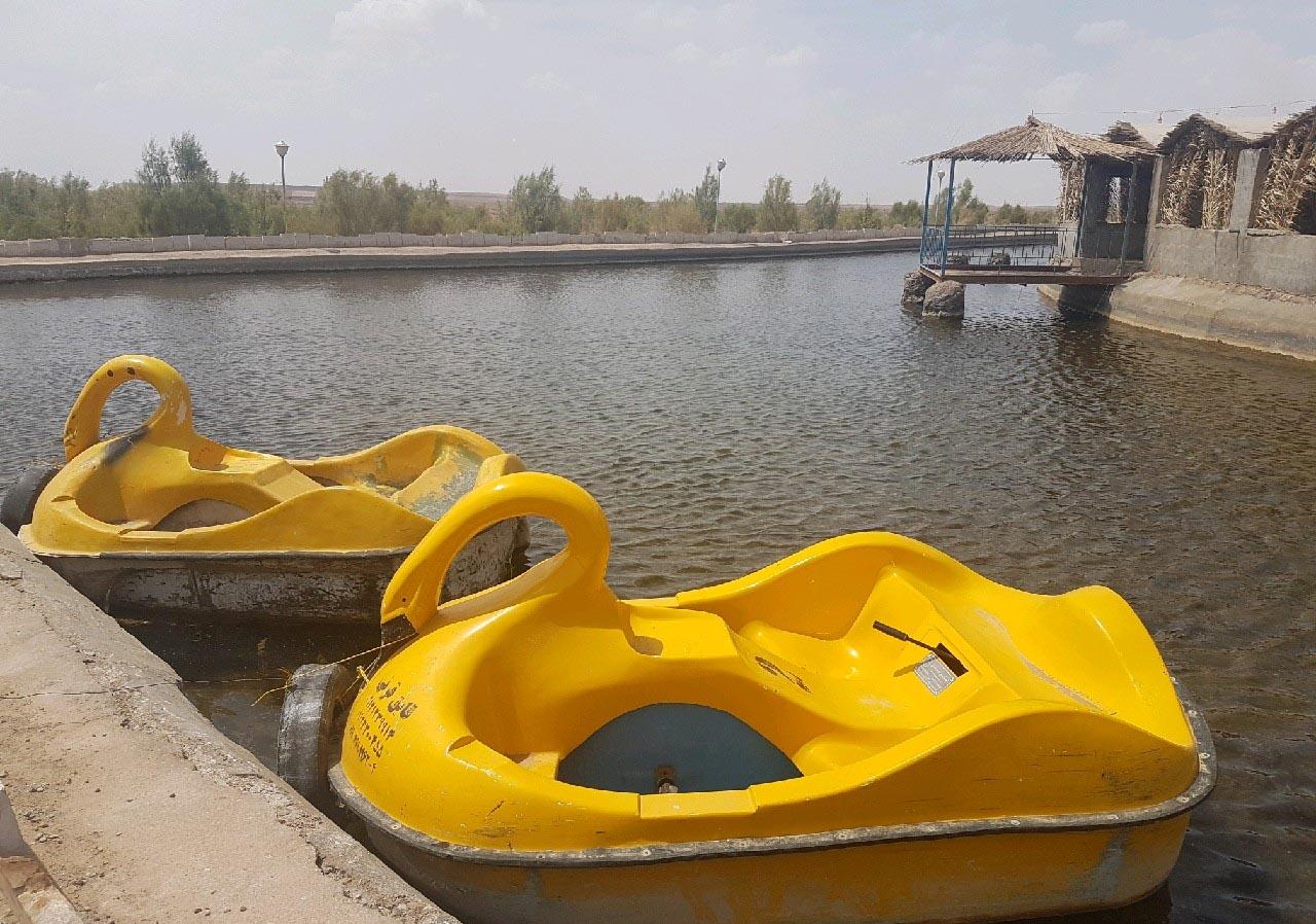 دریاچه نیزار جندق
