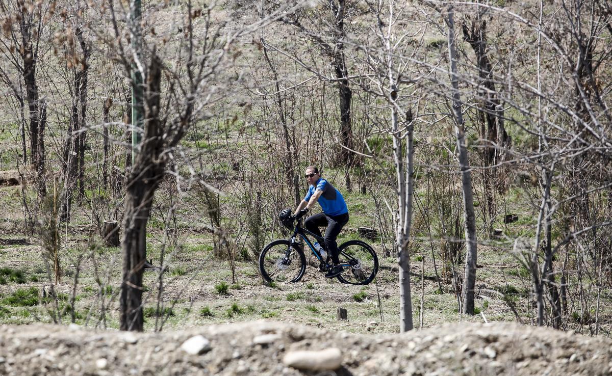 دوچرخه سواری در چیتگر
