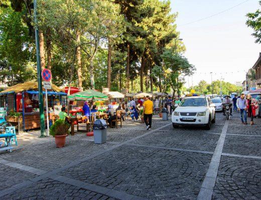 زیباترین خیابان های ایران
