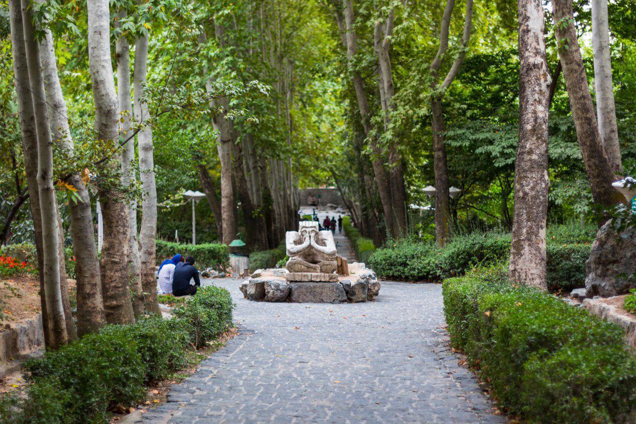 مجسمه های پارک جمشیدیه تهران
