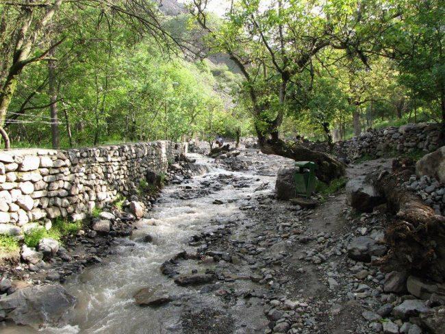 آبشار قره سو کلات