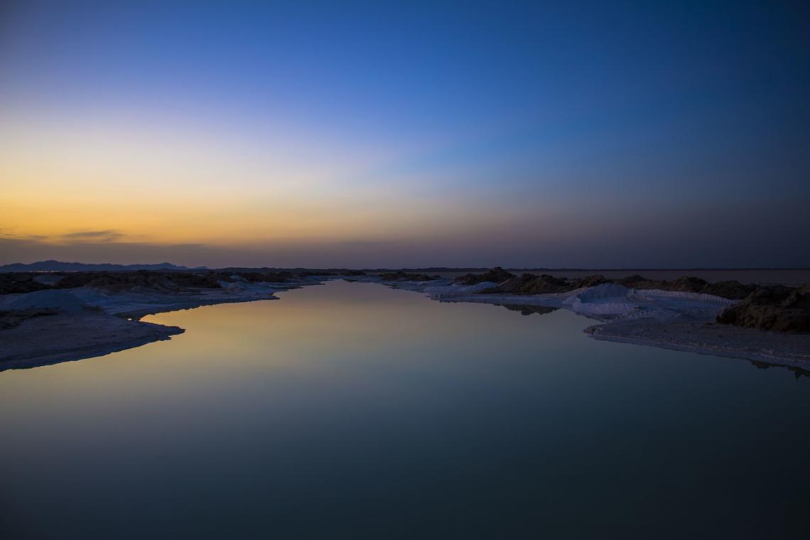 دریاچه نمک خارا