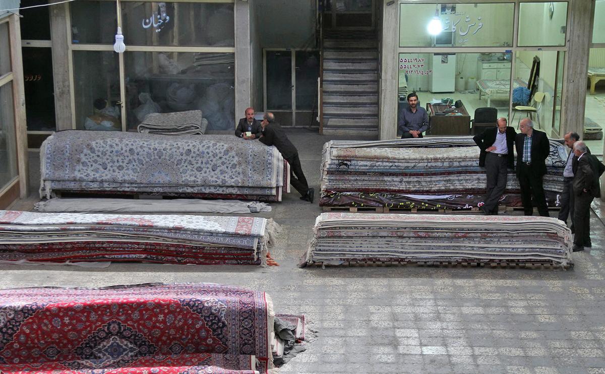 بازار فرش کاشان
