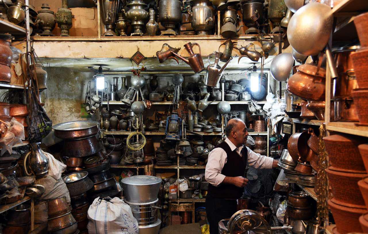 بازار مسگرها در شیراز