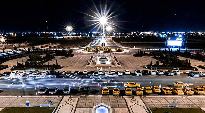 دسترسی به فرودگاه شهید صدوقی یزد
