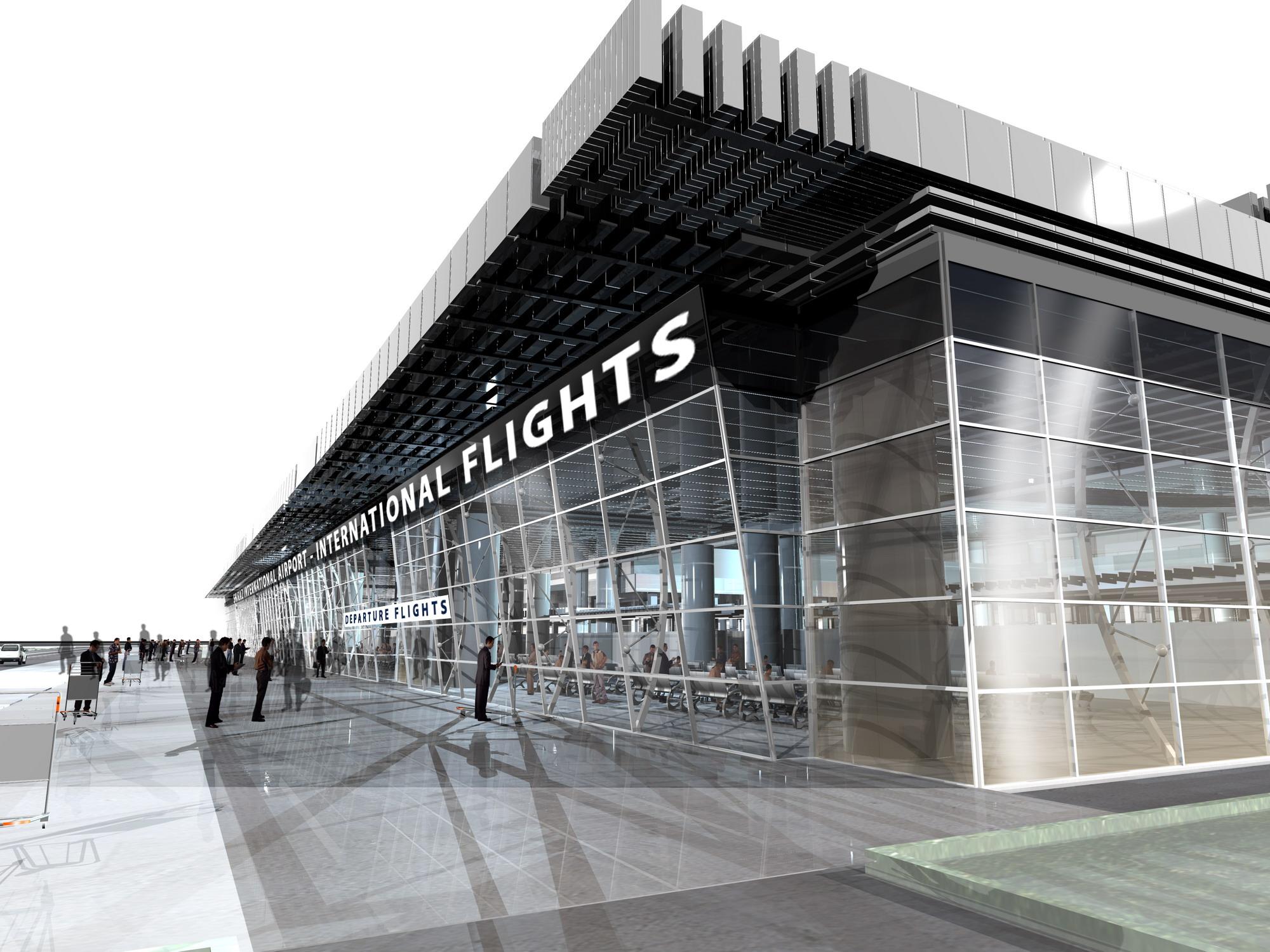 سالن پروازهای خارجی فرودگاه شیراز