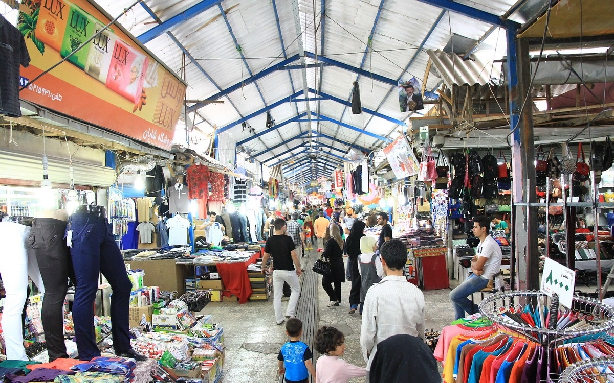 بازار چه های غرب کشور