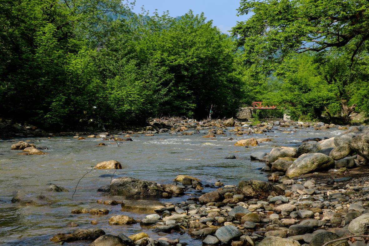 رودخانه کرگان رود