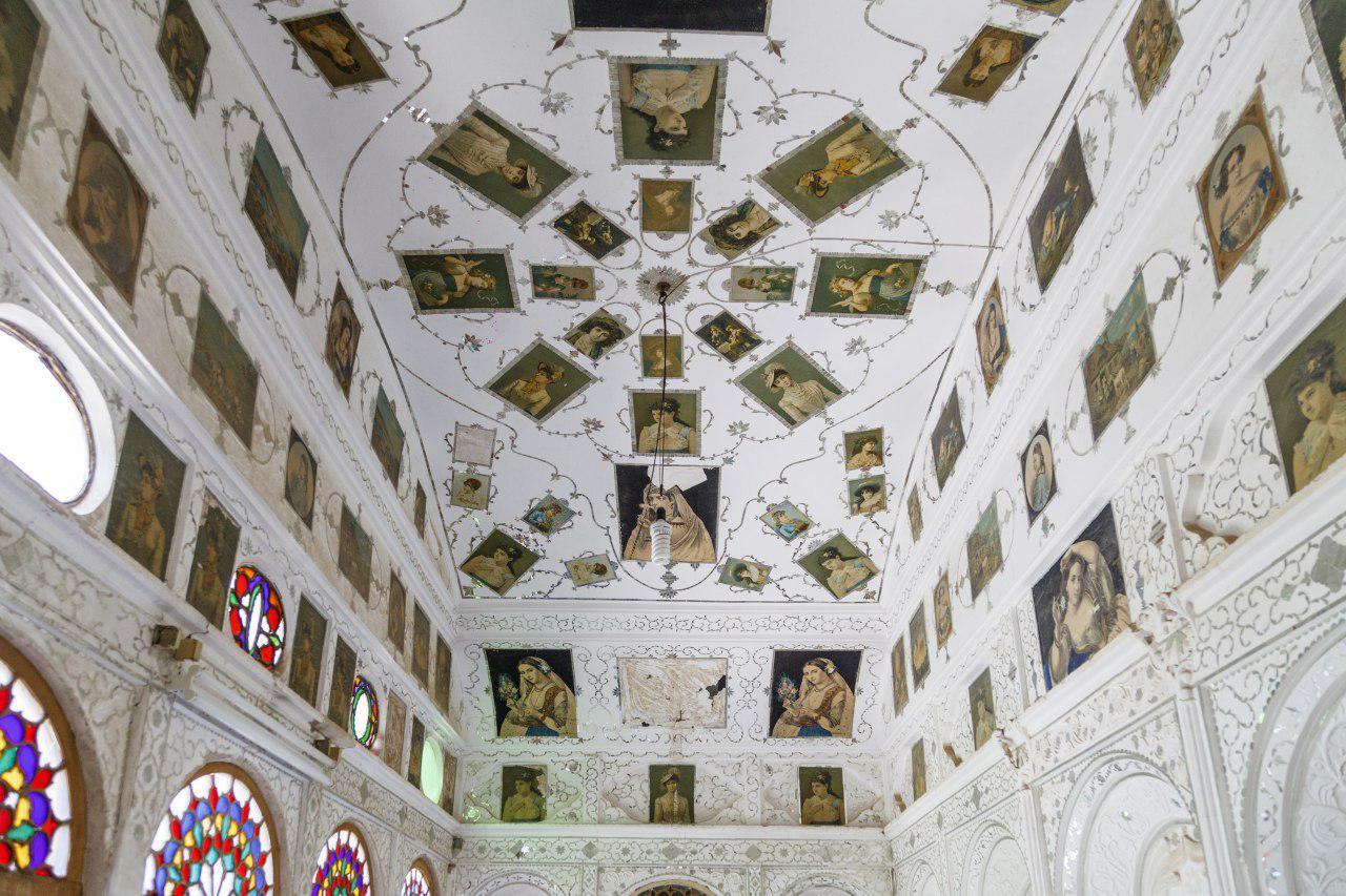 سقف اتاق های لاری ها