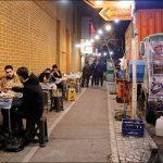 غذاهای خیابانی در تهران