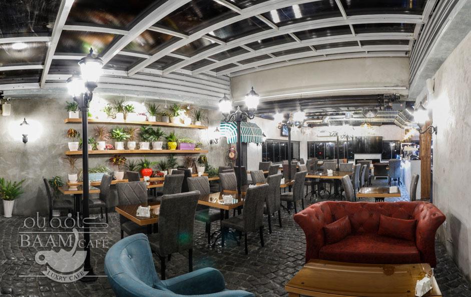 کافه بام تهران نواب