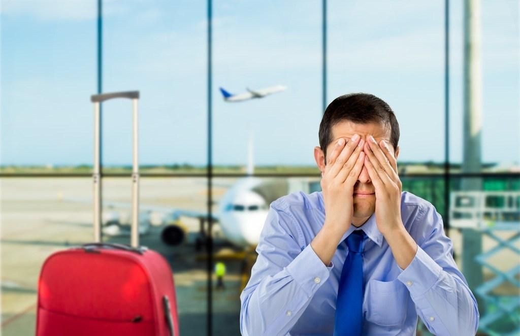 سردرد در هواپیما