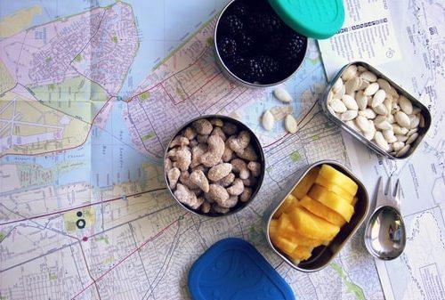 غذا خوردن با پلاستیک کمتر در سفر