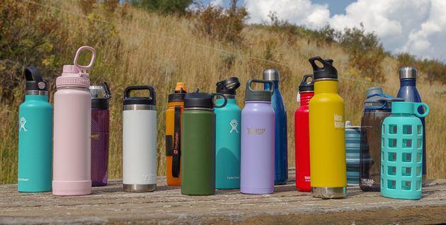 پلاستیک کمتر در سفر با بطری آب