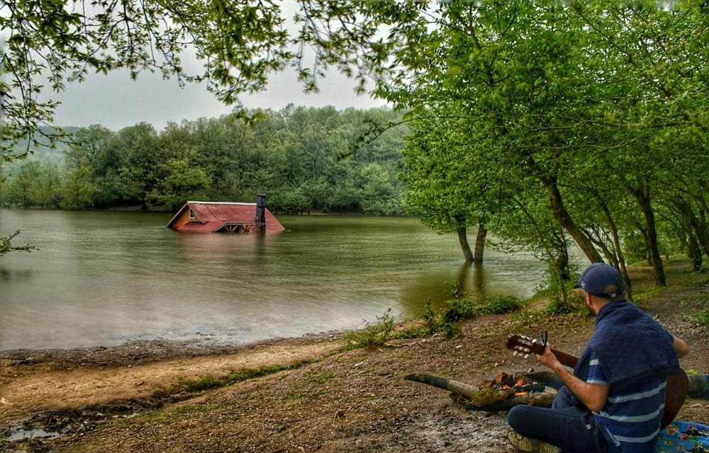 دریاچه سقالکسار رشت