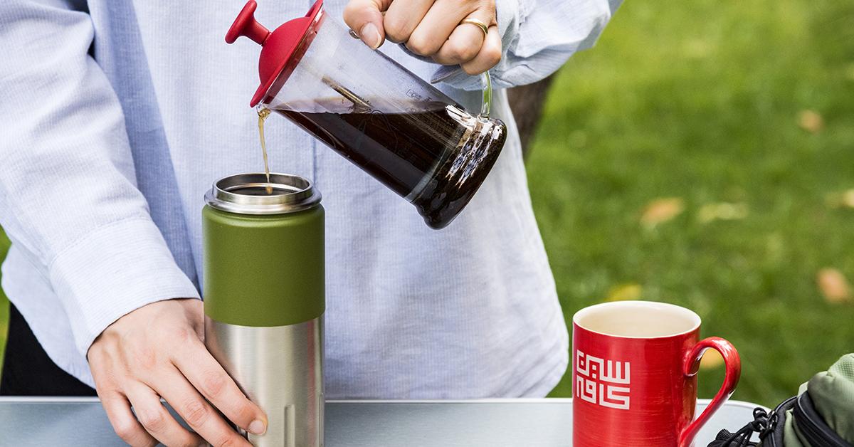 قهوه با فرنچ پرس