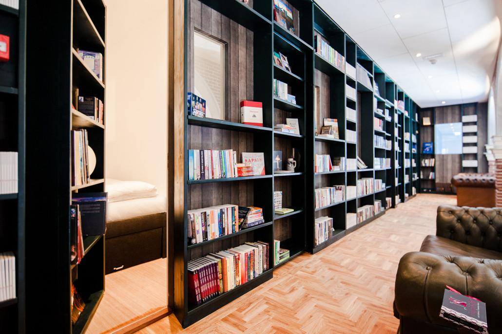 هتل کتابخانه در هلند
