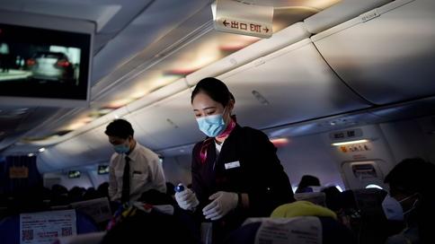 ماسک در هواپیما