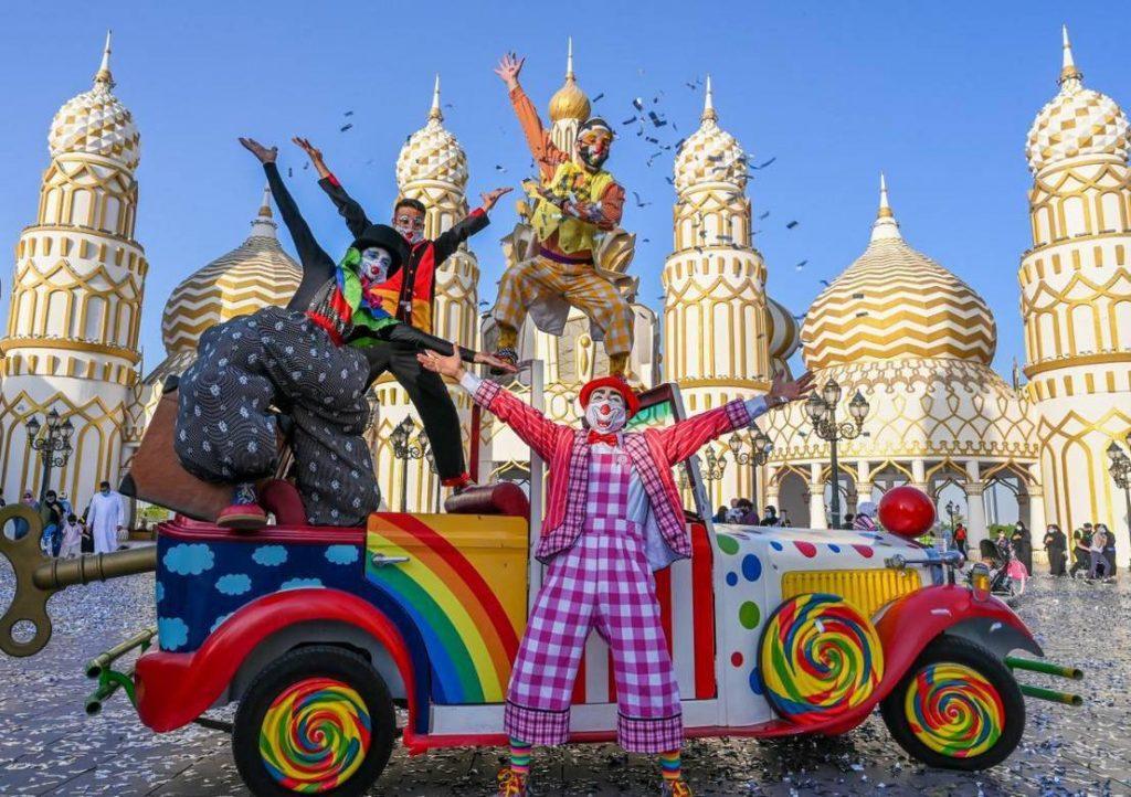نمایش در دهکده جهانی دبی
