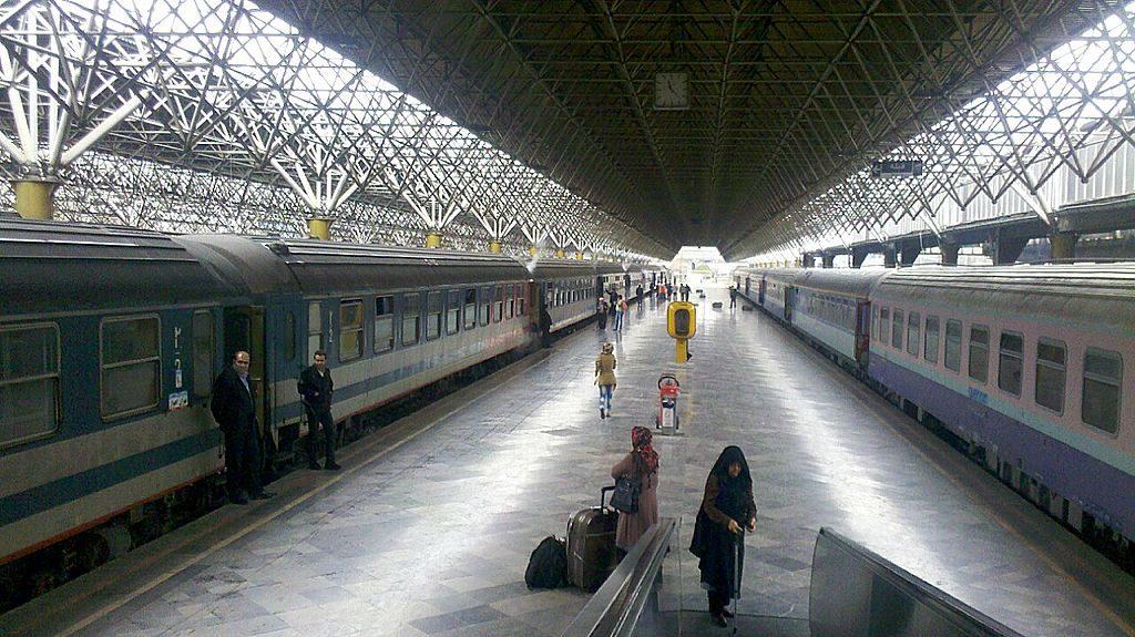 Tehran's train station