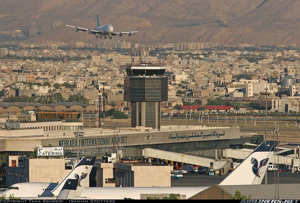 Mehrabad Airport in Tehan