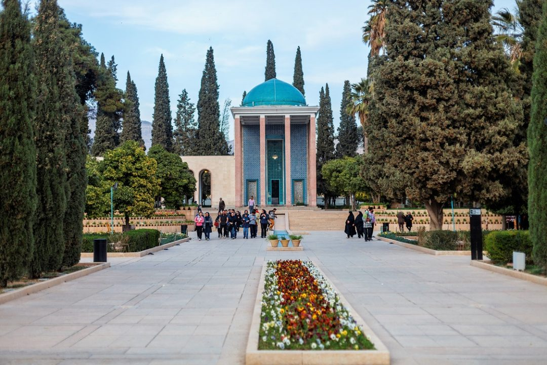Saadie in Iran. Prepare for your journey with five Iran Travel Advice.