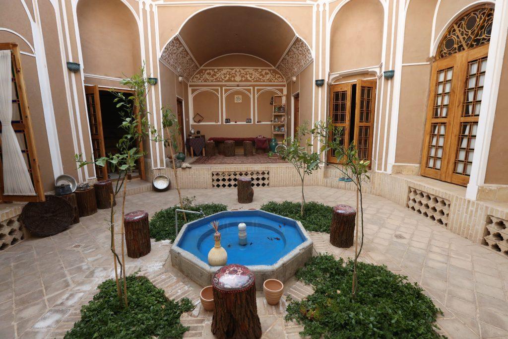 Khane-ye Khesti Traditional House in Yazd
