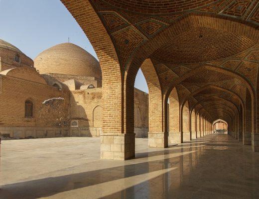 Blue Mosque in Tabriz