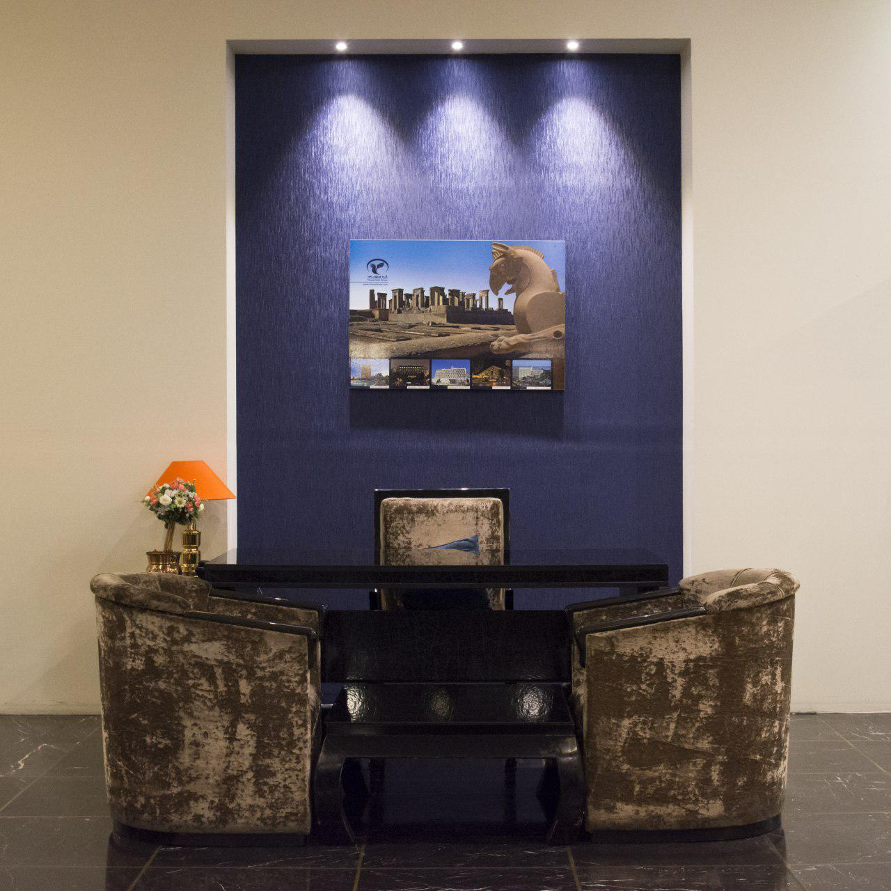 Inside decoration of Homa hotel