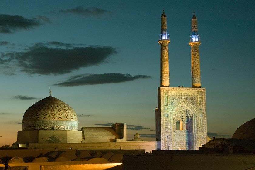 The Jame Mosque of Yazd