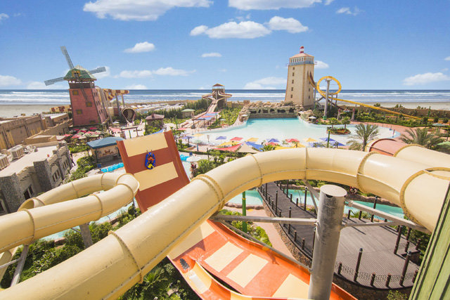 The Ocean Themed Water Park is a major contributor to Kish tourism.