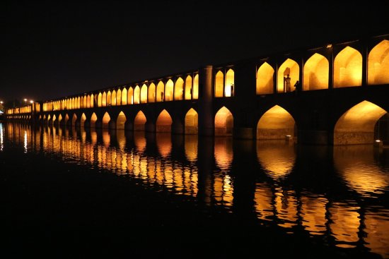 Picturesque Si-o-se-pol is one of Iran's most popular attractions.
