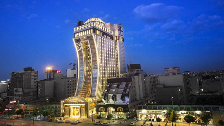 almas 2, one of the best hotels in mashhad