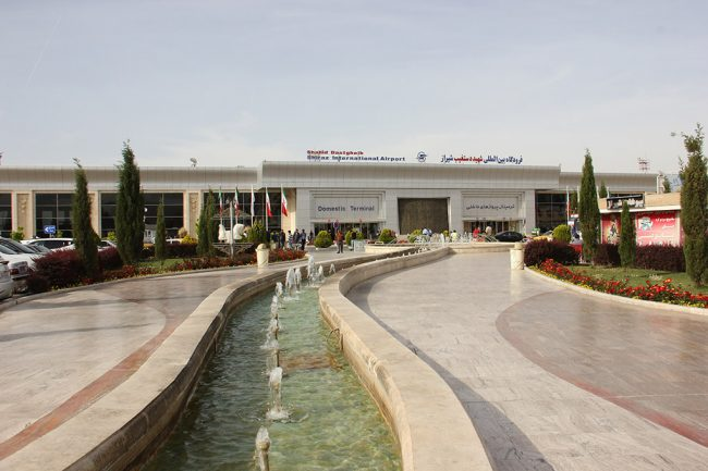 Where is Shiraz International Airport?