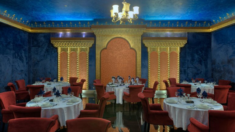restaurant at darvishi hotel